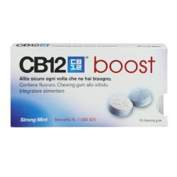 CB12 BOOST STRONG MINT 10 CHEWING GUM - MEDA PHARMA SPA
