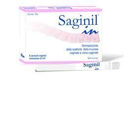SAGINIL IN CANNULA VAGINALE 4,5 ML 5 PEZZI - EPITECH GROUP SPA