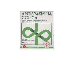 ANTISPASMINA COLICA 30 COMPRESSE RIVESTITE 10 mg + 10 mg