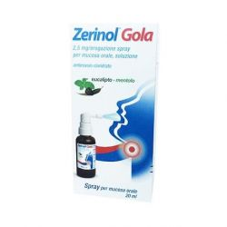ZERINOL GOLA 2,5 MG SPRAY 20 ML - SANOFI SPA