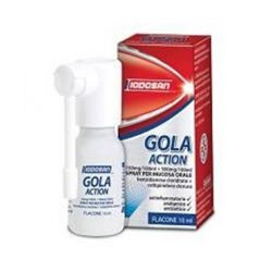GOLA ACTION 0,15% + 0,5% SPRAY 10 ML - IODOSAN SPA