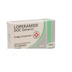 LOPERAMIDE DOC 2 mg 15 COMPRESSE