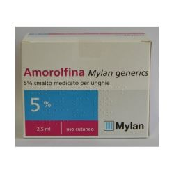 AMOROLFINA 5% SMALTO MEDICATO 2,5 ml