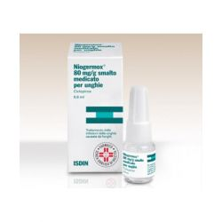 NIOGERMOX 80 mg/g SMALTO MEDICATO 6,6 ml