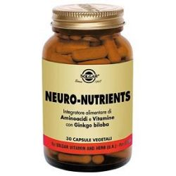 NEURO NUTRIENTS 30CPS VEGETALI - SOLGAR IT. MULTINUT.