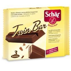 SCHAR TWIN BAR CIOCCOLATO AL LATTE 3 BARRETTE