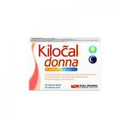 Kilocal donna 20+20 compresse giorno e notte POOL PHARMA