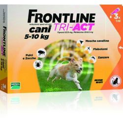 FRONTLINE TRI ACT 3 PIPETTE 1 ML CANI 5-10 KG MERIAL