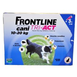 FRONTLINE TRI ACT 6 PIPETTE 2 ML CANI 10 - 20 KG