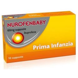 NUROFENBABY 10 SUPPOSTE 60MG