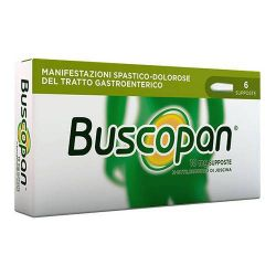 BUSCOPAN 10 MG 6 SUPPOSTE - SANOFI SPA