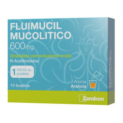 Fluimucil mucolitico 600 MG 10 Bustine
