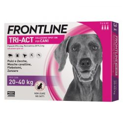 FRONTLINE TRI ACT 3 PIPETTE 4 ML CANI 20 - 40 KG