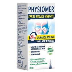 PHYSIOMER SPRAY NASALE SINUSITE 50 MG - PERRIGO ITALIA SRL